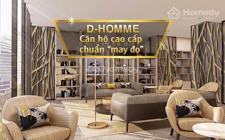 D - Homme căn hộ cao cấp đầu tiên tại Quận 6 chỉ 9 căn Dual Key duy nhất, liên hệ Thúy