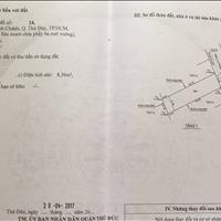 Bán 70m2 đất 4x17m, hẻm xe hơi, đường 48, Hiệp Bình Chánh, Thủ Đức
