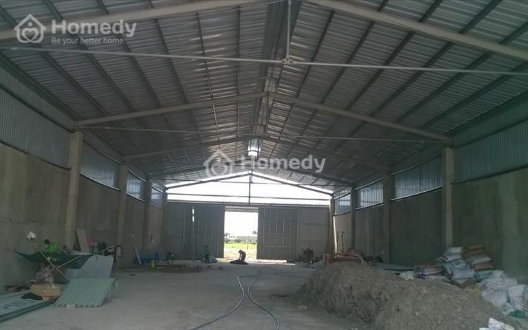 Cho thuê nhà xưởng diện tích 900m2 khu vực xã Vĩnh Lộc A