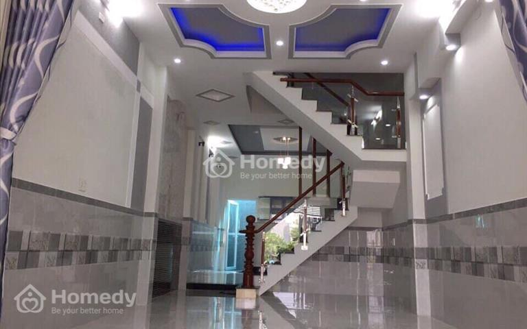 Cần bán căn nhà Quận 8 Trịnh Quang Nghị, nhà 1 trệt 1 lầu, 4x14m, giá 1,6 tỷ khu vực đông dân cư