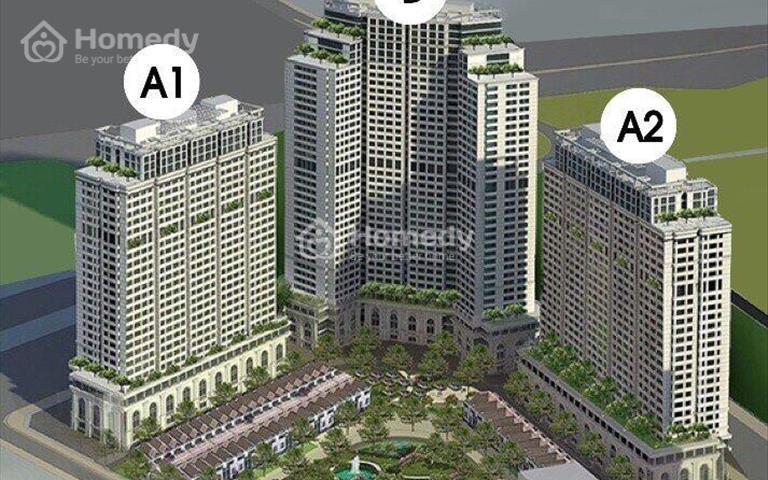 Ra hàng Shophouse khối đế IA20 Ciputra, giá 2 tỷ/ 51m2, sắp nhận nhà, đầu tư sinh lời