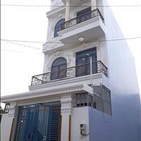 Nhà 5,2x18m đúc 2 lầu gần ngã 4 Giếng Nước, Trần Văn Mười, Xuân Thới Đông, đường 5m xe tải