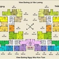 Cho thuê chung cư cao cấp Việt Đức Complex, 39 Lê Văn Lương, nội thất cơ bản, giá 9 triệu/tháng