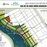 Chính chủ cần bán nhanh lô đất biệt thự Ngọc Dương Riverside - view sông Cổ Cò giá tốt