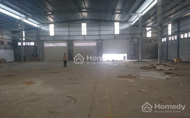 Cho thuê kho xưởng 700m2 mới 100% mặt tiền đường 24, Quận Thủ Đức