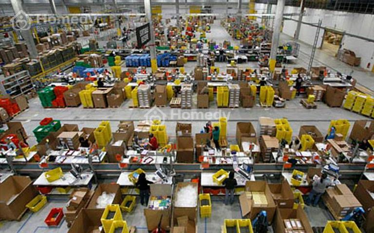 Cho thuê kho xưởng diện tích 4250m2 chia lẻ từ 400m2 ở Sóc Sơn, Hà Nội, giá cho thuê 55 nghìn/m2