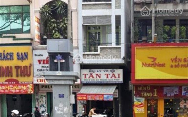 Cho thuê nhà mặt tiền Nguyễn Tri Phương, Quận 10, diện tích 4x12m