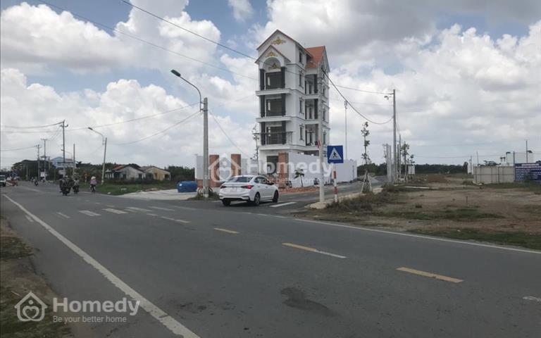 Chính chủ bán gấp lô đất mặt tiền Quốc lộ 22 Củ Chi, cách bệnh viện Xuyên Á 200m SHR giá chỉ 520 tr