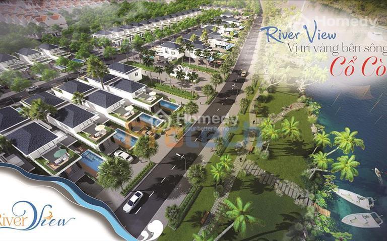 20 suất ngoại giao đặc biệt, biệt thự view sông Cổ Cò dự án River View giá rẻ hơn thị trường 2tr/m2