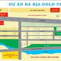 Cần bán 5 lô đất sổ đỏ, giá gốc chủ đầu tư Bà Rịa Gold City, thanh toán 30%