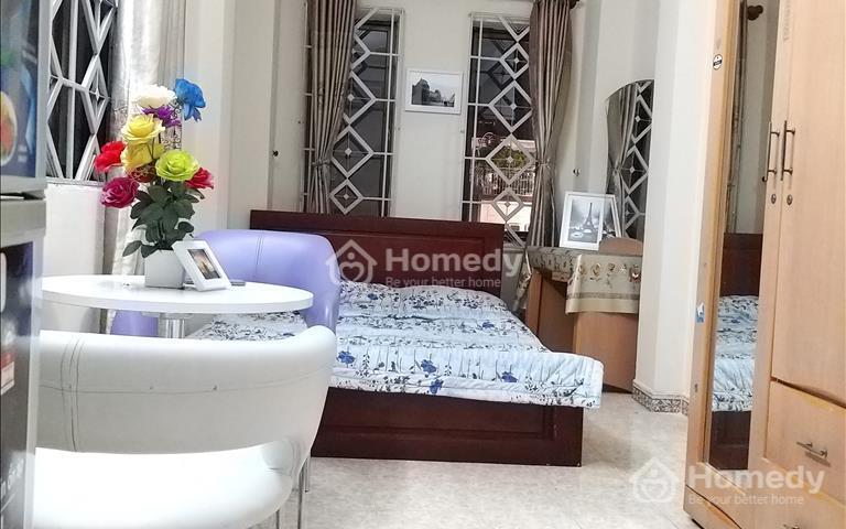 Cho thuê căn hộ, 30m2, full nội thất, giá 4,5 triệu - 5 triệu/tháng, 86 Hoàng Văn Thụ, Phú Nhuận