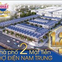 Duy nhất 18 sản phầm đất nền nhà phố 2 mặt tiền chợ Điện Nam Trung