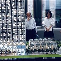 Căn hộ The Zei, Nguyên Thứ trưởng bộ xây dựng Nguyễn Trần Nam thăm và chốt căn hộ Duplex