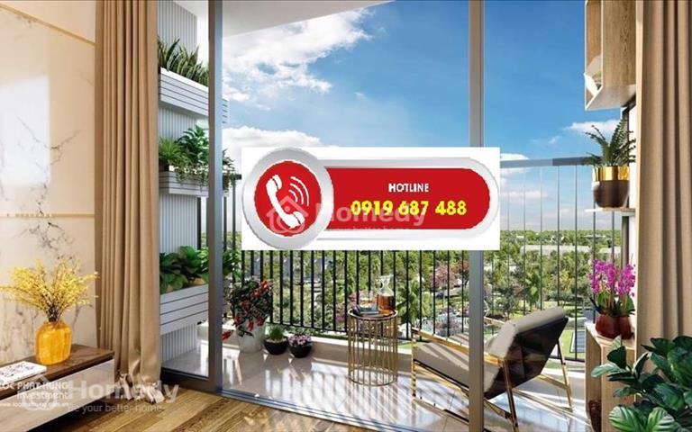 Căn hộ cao cấp mặt tiền Nguyễn Văn Linh, ngay cầu Tân Thuận 2, giá 2,3 tỷ full nội thất