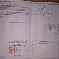 Bán gấp 124m2 đất mặt tiền đường Đỗ Thị Xích, Tân Thông Hội, Củ Chi, giá 1.55 tỷ