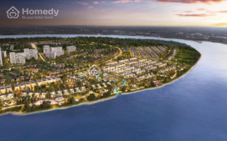 Cần bán căn dinh thự Swan Bay 4.2 view trực diện sông đẹp nhất dự án