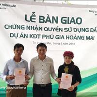 Bán đất nền thổ cư dự án khu đô thị Hoàng Mai Nghệ An