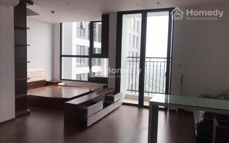 Cho thuê căn hộ 1 phòng ngủ toà G1, 38m2, full đồ tại Green Bay Mễ Trì, giá 11 triệu/tháng