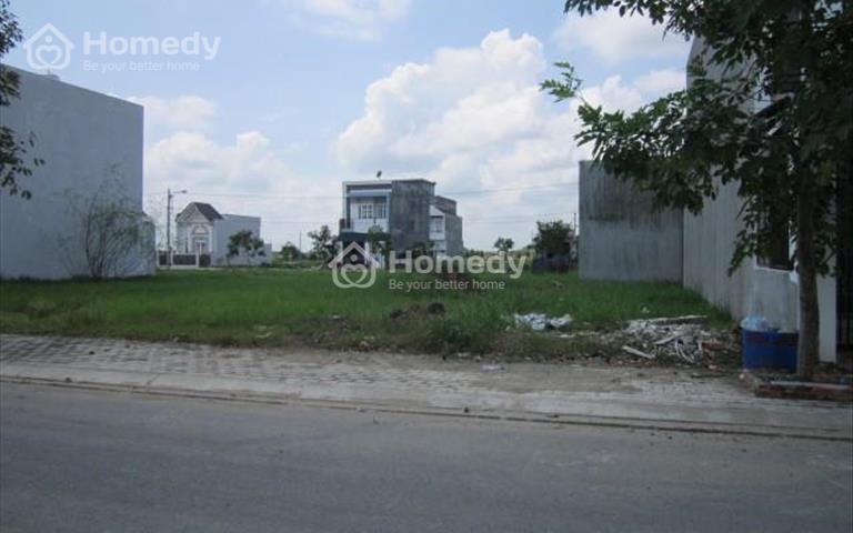 Chỉ 319 triệu sở hữu lô đất 100m2 mặt tiền Đoàn Nguyễn Tuấn, Bình Chánh, sổ hồng riêng