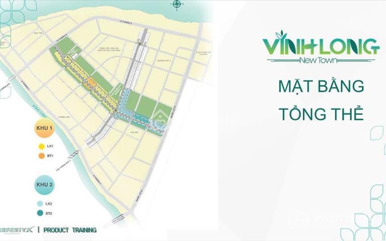 Chỉ 650 triệu/nền đất ở đô thị, trung tâm Vĩnh Long, hạ tầng hoàn thiện, có sổ ngay