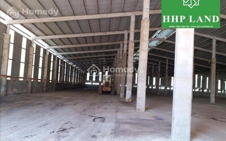 Cho thuê nhà xưởng, 24x90m và 12x90m, cụm công nghiệp Thạnh Phú