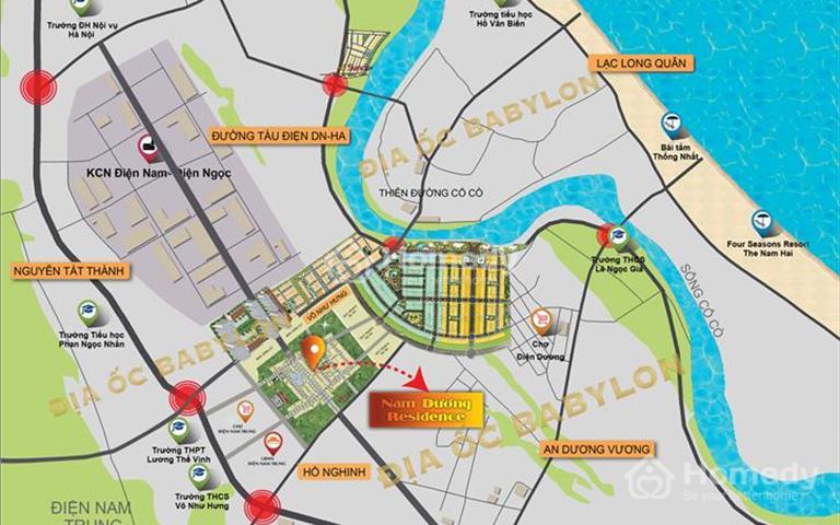 Tuyến phố kiểu mẫu trung tâm Điện Nam Điện Ngọc - 390 triệu sở hữu