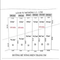 Mở bán 6 lô đất Vĩnh Hiệp, Thành phố Nha Trang, 6 lô đất hướng Nam, đường bê tông 5m