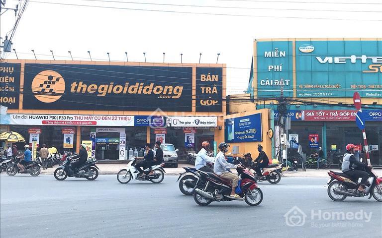 Bán đất mặt tiền kinh doanh Đại lộ Long An - Đức Hòa, 100m2 giá 10 triệu/m2 sổ riêng