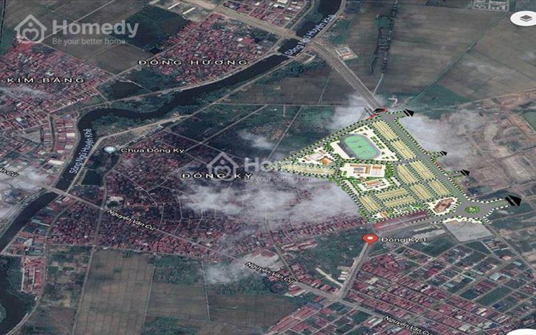 Đất nền sổ đỏ 101m2 Đồng Kỵ, thị xã Từ Sơn, Bắc Ninh