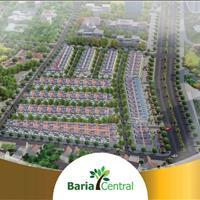 Baria Central - Giá rẻ nhất hiện nay, khả năng sinh lợi nhuận cao