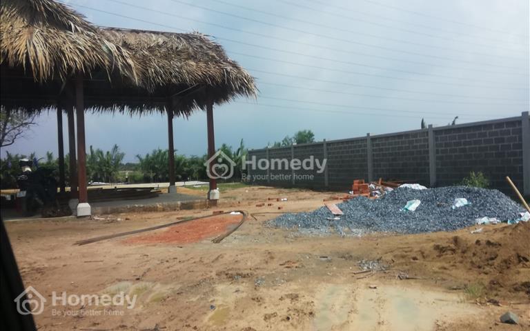 Cần bán lô đất biệt thự vườn mặt tiền sông xã Phú Đông đã có sổ