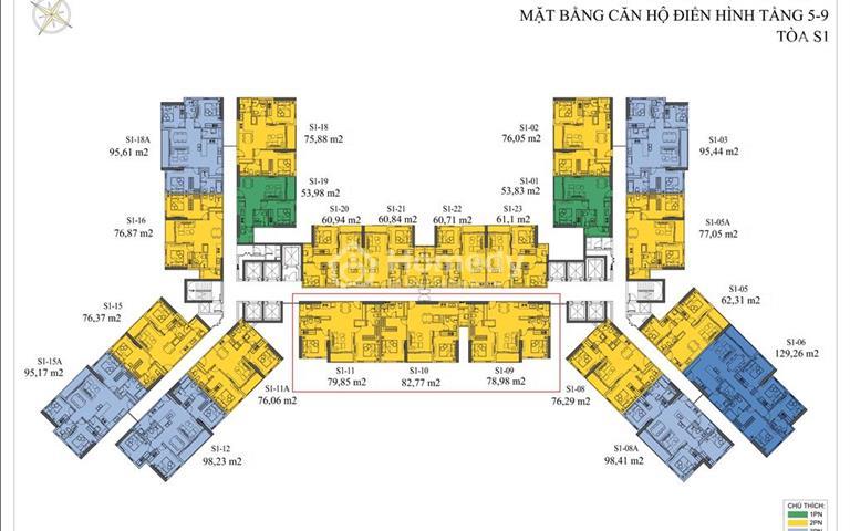 Cần bán lại căn hộ chung cư Doji, số 1 Bến Đoan, Quảng Ninh, giá rẻ nhất thị trường