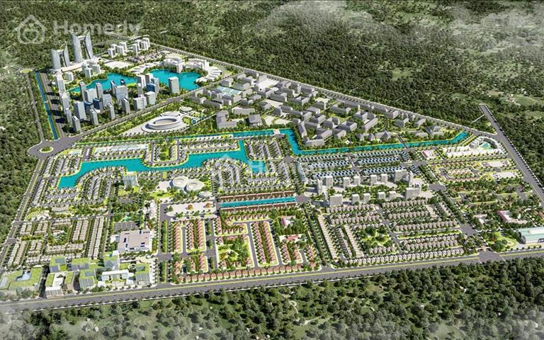 Sở hữu ngay đất nền sổ đỏ khu dân cư E.City Tân Đức mặt tiền Tỉnh Lộ 824 chỉ với 13,8 triệu/m2