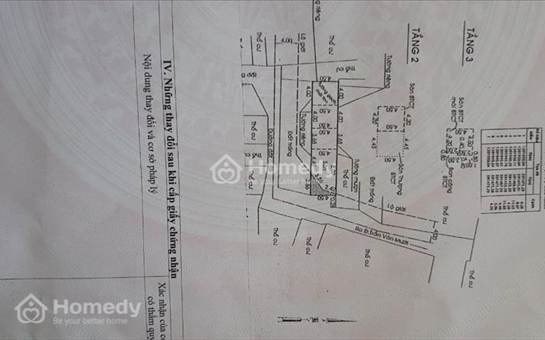 Chuyển công tác nên cần bán nhà ở Trần Văn Mười, Hóc Môn, giá 2,65 tỷ