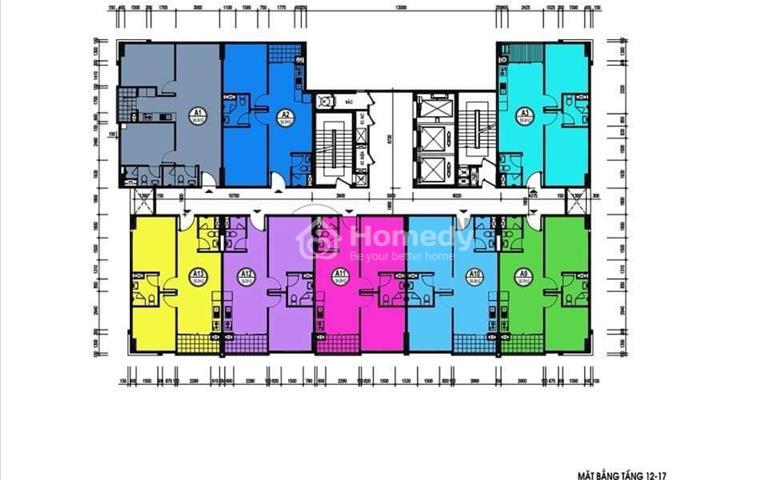Bán căn hộ chung cư tại Văn Quán, Hà Đông, diện tích 56.9m2, giá 1.28 tỷ