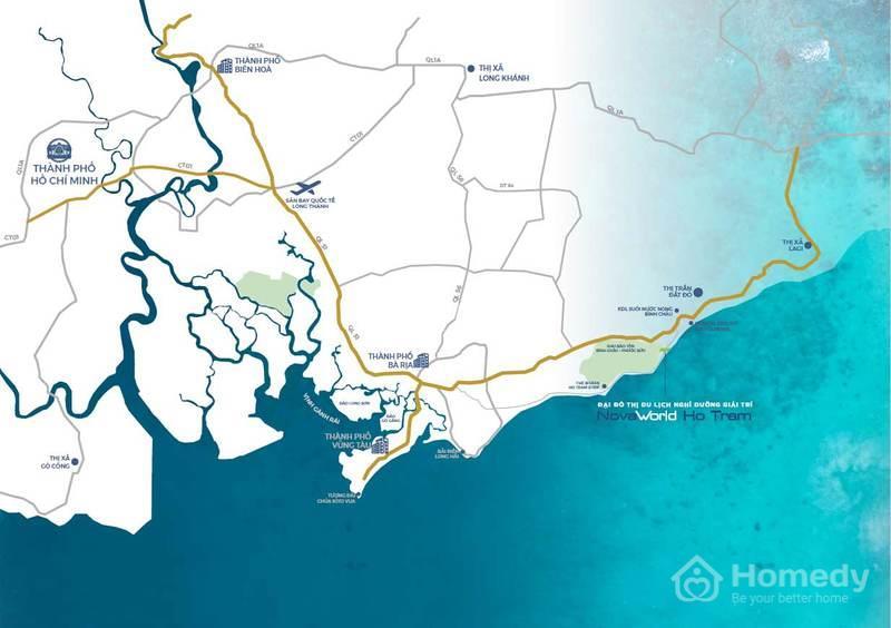 Tổng quan dự án Nova World Hồ Tràm
