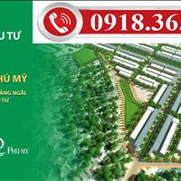 Mở bán 30 căn Shophouse 5 tầng đường chính 50m khu đô thị Phú Mỹ, Quảng Ngãi