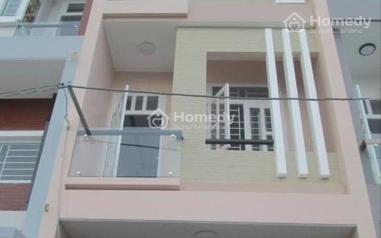 Nhà 1 trệt, 2 lầu mặt tiền Nguyễn Hữu Trí, đang cho thuê kinh doanh 10 tr/tháng, 4x15m, 1,2 tỷ