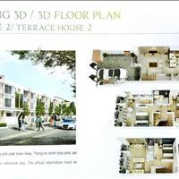 Chính chủ bán nhà phố liền kề dự án Sun Casa, Vsip 2 Thủ Dầu Một, Bình Dương giá 2.3 tỷ