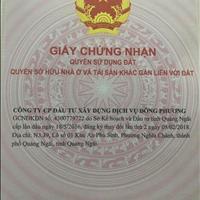 Nhượng lại vài lô  có sổ sẵn tại khu dân cư An Lộc Phát - Quảng Ngãi