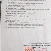 Bán ô góc khu dân cư Bột Cá 152m đường 21m– Phường Hà Khánh – Hạ Long