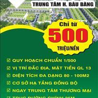 Đất vàng mặt tiền Quốc Lộ 13 liền kề khu công nghiệp Bàu Bàng