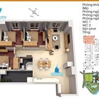 Căn hộ Topaz City mặt tiền đường Cao Lỗ - 03 phòng ngủ - 95m2 - dọn vào ở ngay