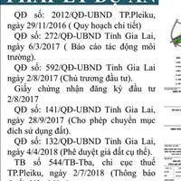 Khu dân cư SH Land - dự án đất nền đầu tiên tại Gia Lai