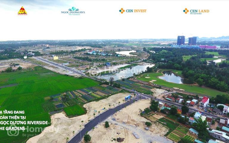 Bán lô biệt thự đẹp view sông Cổ Cò, Ngọc Dương Riverside