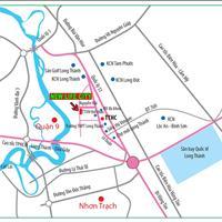 Bán đất, sổ hồng riêng, sổ đỏ thổ cư 100%, mặt tiền Lê Duẩn thị trấn Long Thành, Đồng Nai