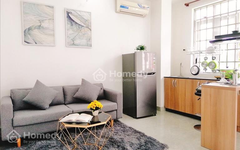 Cho thuê căn hộ mini Studio, 1PN riêng, có cửa sổ lớn ban công riêng, nội thất, gần Vincom quận 7