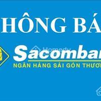 Thông báo ngân hàng Sacombank phát mãi 39 nền đất và 15 lô góc khu vực Hồ Chí Minh