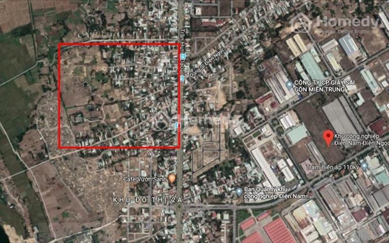 Chỉ với 400 triệu khách hàng đã sở hữu một lô đất đẹp đối diện khu công nghiệp Điện Nam Điện Ngọc