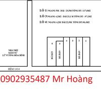 Bán đất đường Lê Đức Thọ 116m2, phường 13 - Gò Vấp, gần cầu Cụt
